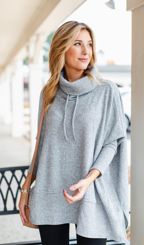 The Aviana Sweater, Grey