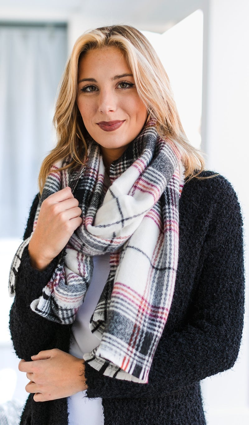 The Perfect Touch Scarf, Ivory