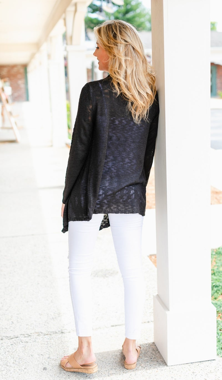 La Mer Knit, Black