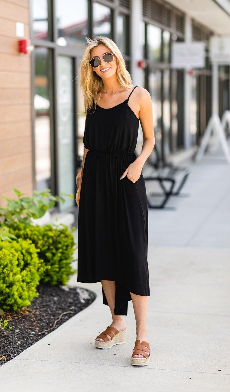 The Cynthia Dress, Black