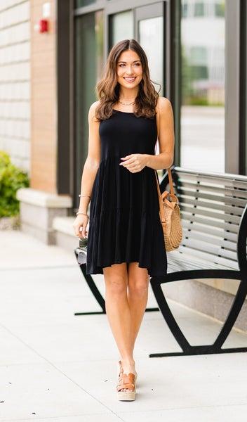 Beach Lover Dress, Black