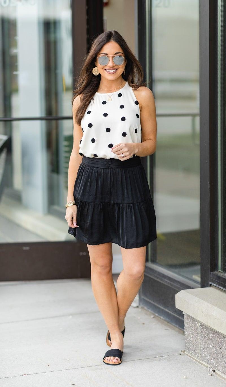 The Byron Bay Skirt, Black