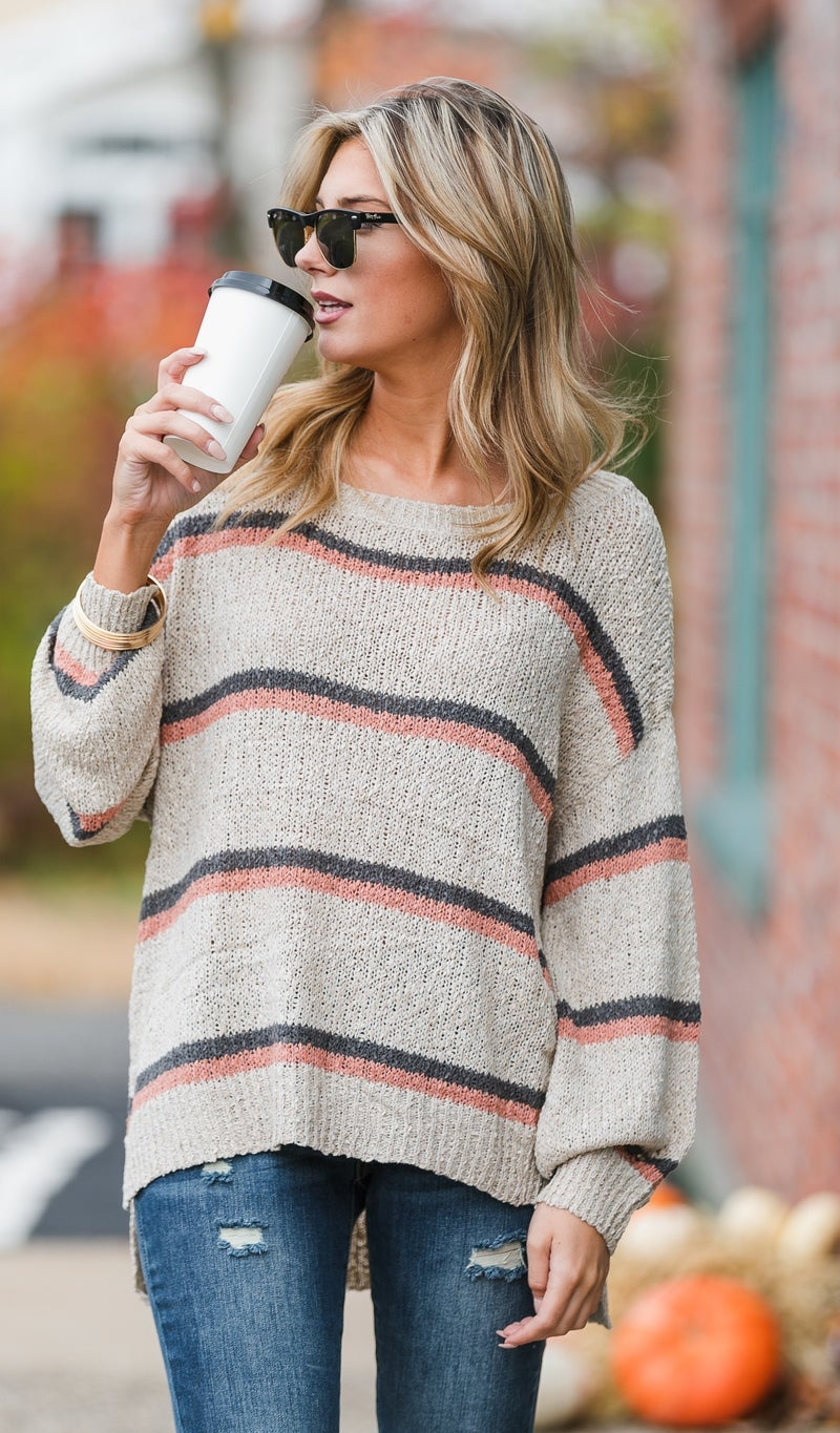In My Dreams Sweater, Beige
