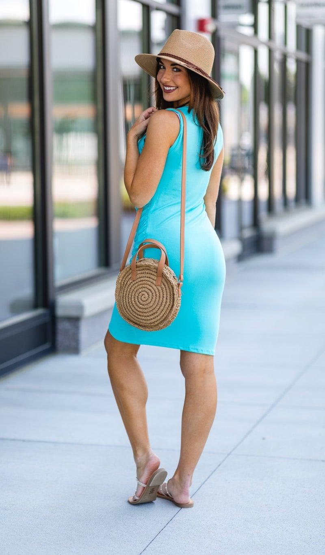 The Jena Dress, Jade