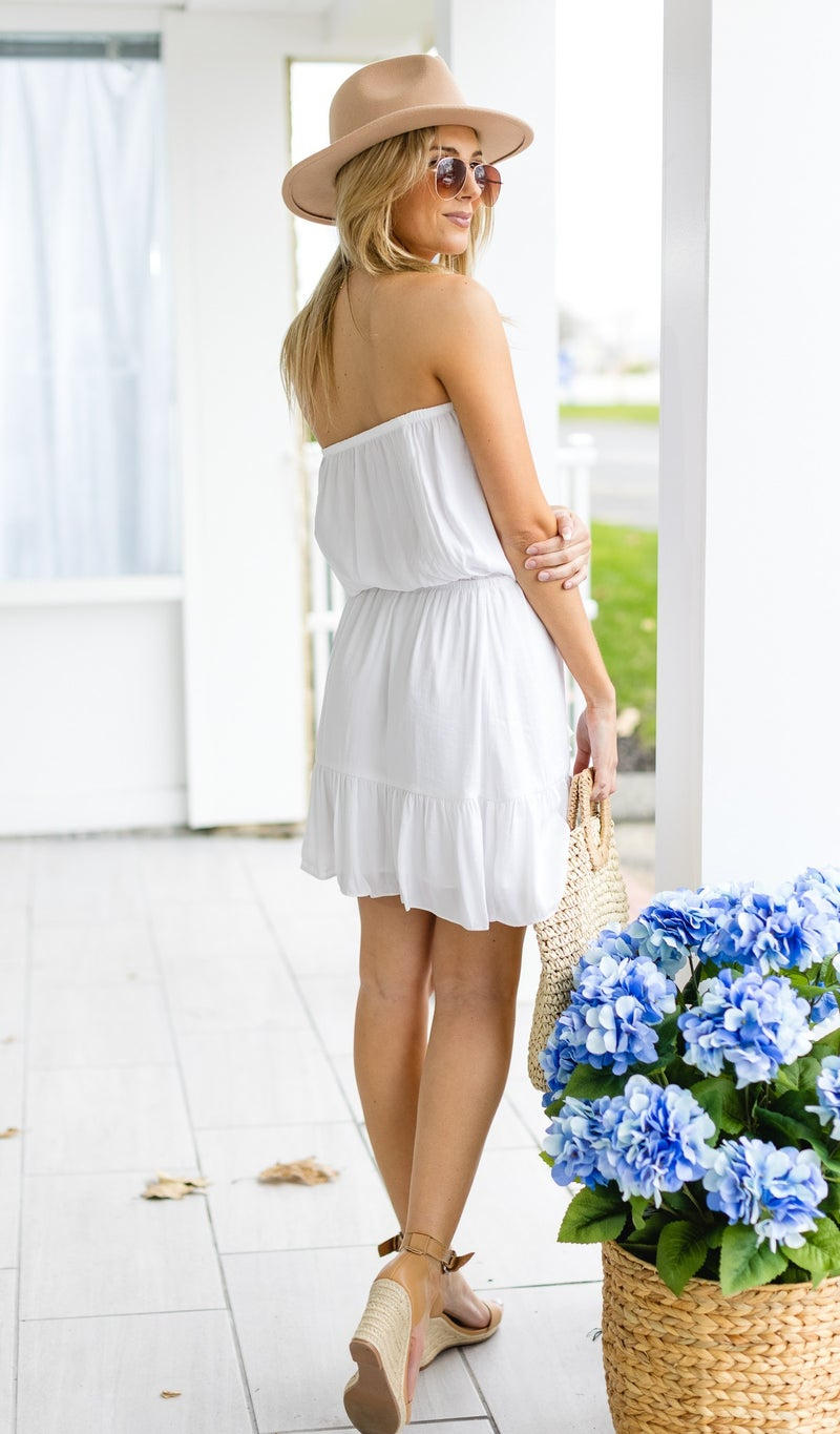 Clearly Yours Dress, Off White