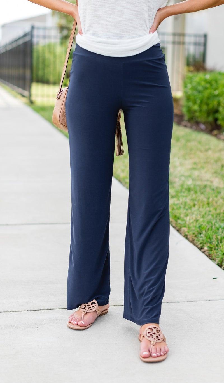 Comfort First Pants, Navy