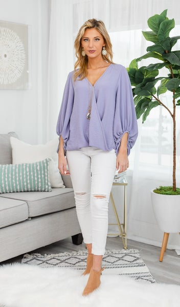 Every Option Top, Lavender