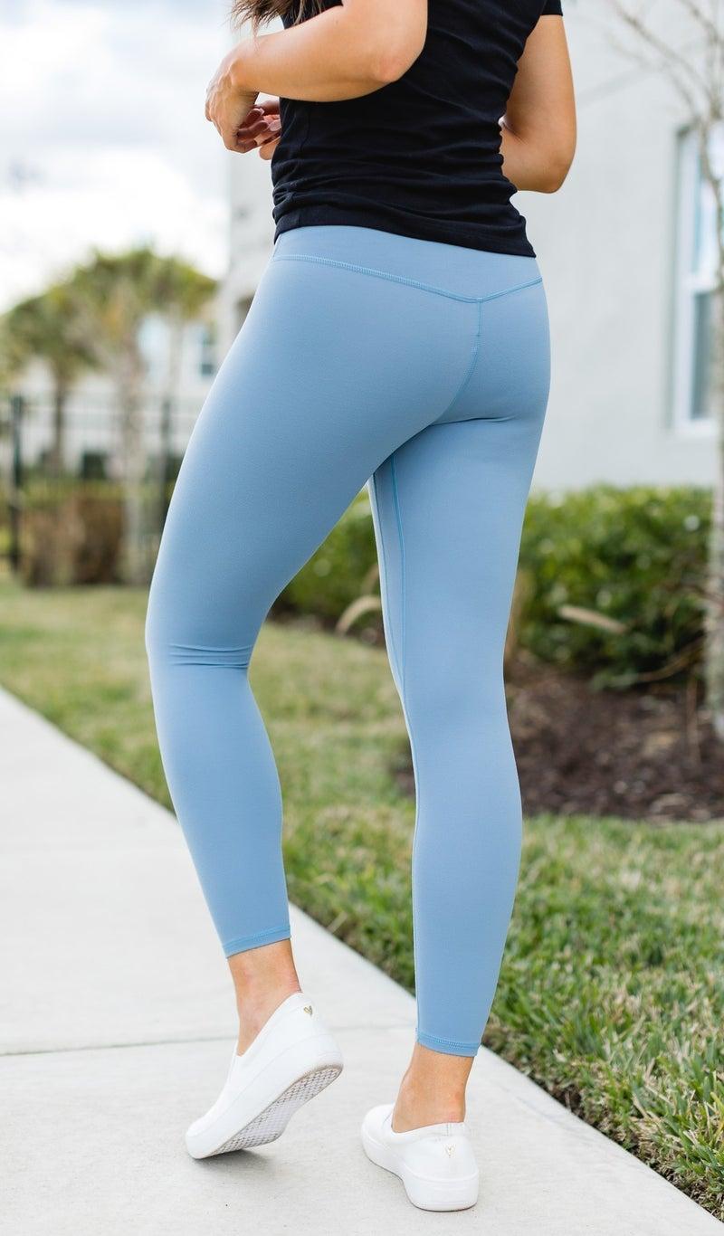 Feel The Movement JB Premium Leggings-Blue, Lavender, Or Black