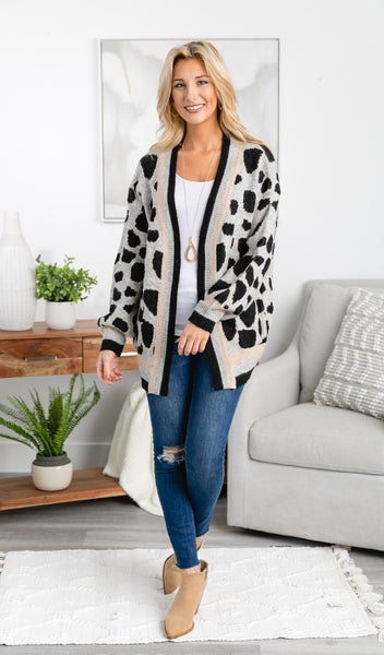 The Jeanie Cardigan
