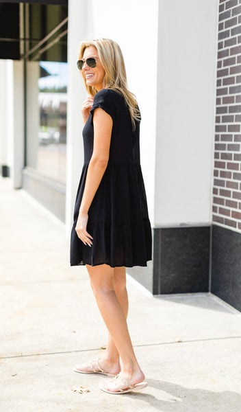 Simple and Sweet Dress, Black