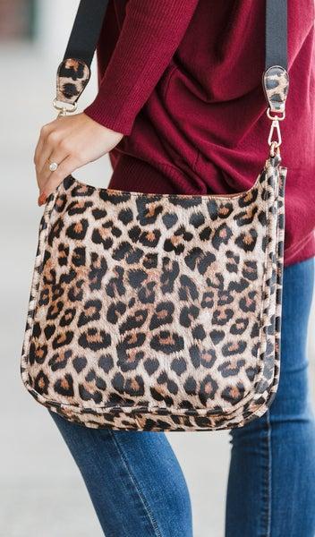 The Best Cross Body Bag, Leopard Print