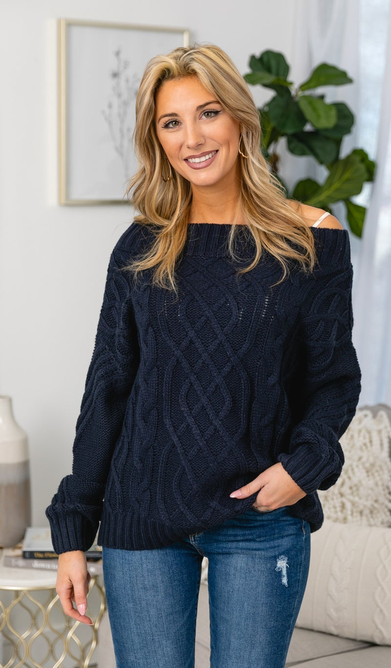 All You Need Sweater, Navy