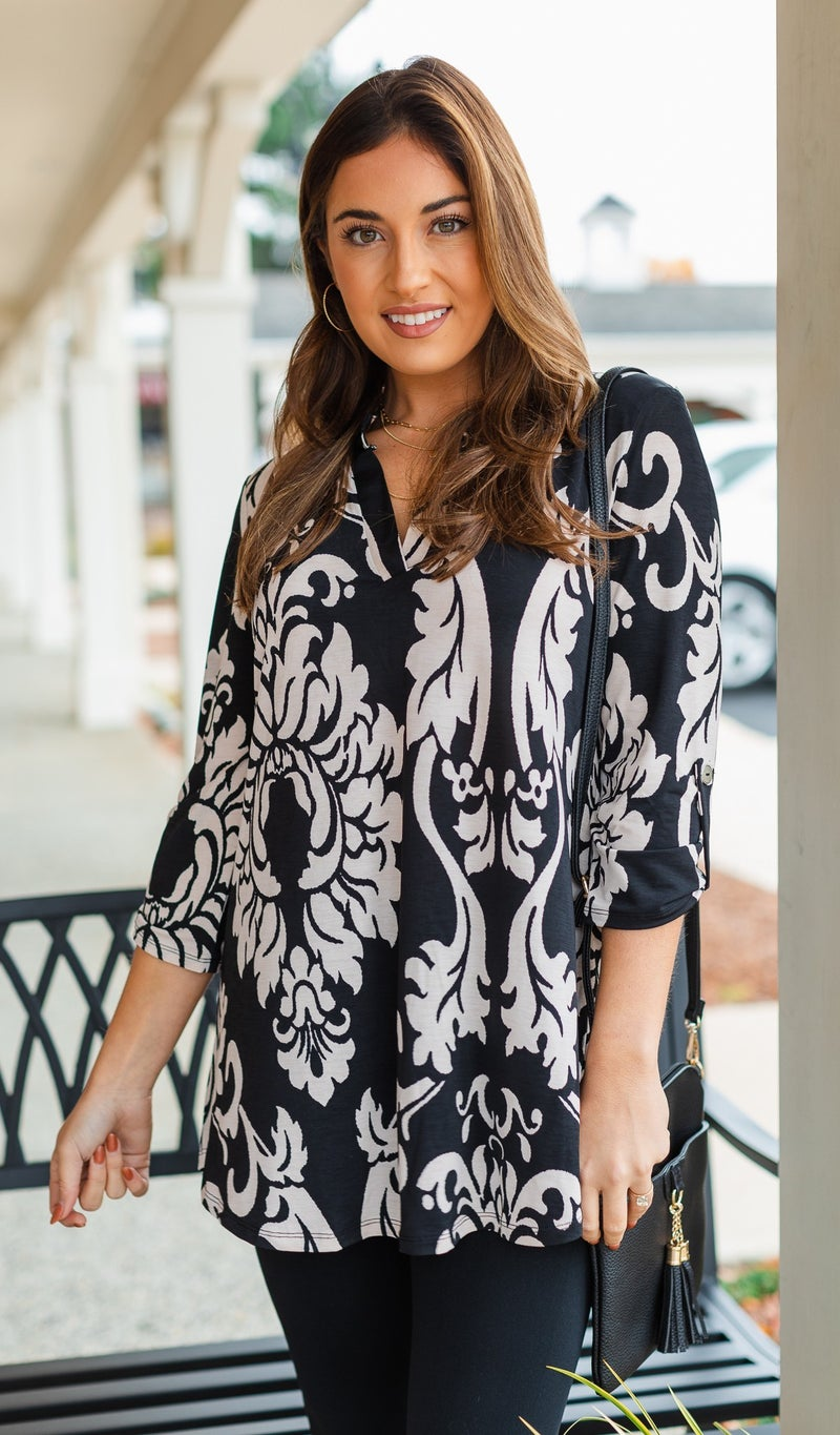 Absolute Love Tunic, Black