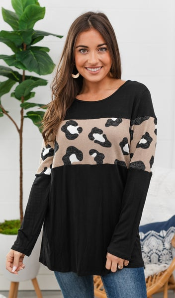 Instant Hit Top, Black