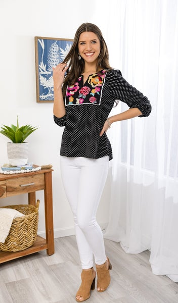 Beautiful Soul Blouse, Black