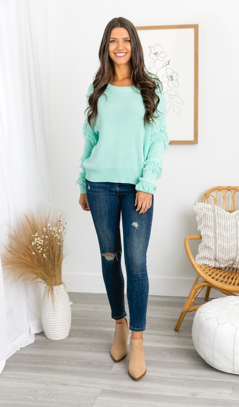 The Rio Sweater, Mint