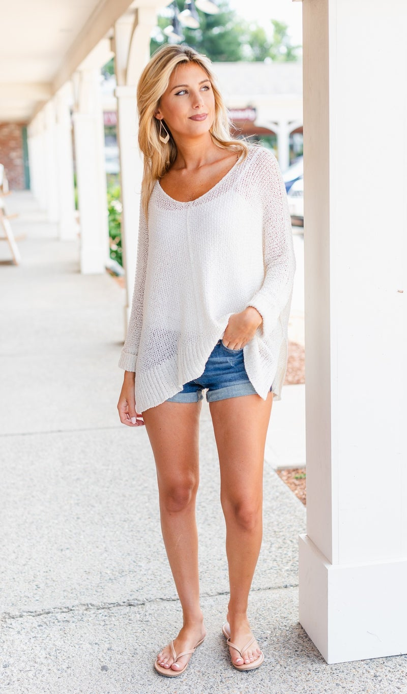 The Daydreamer Top, Ivory or Olive