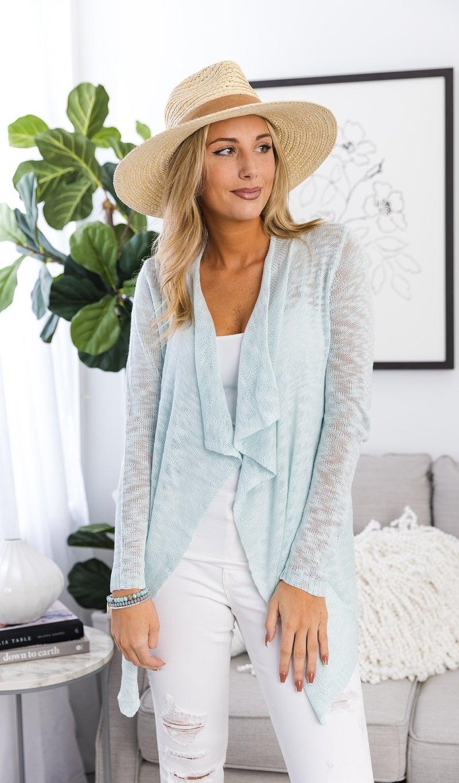 La Mer Knit BUNDLE, Light Blue