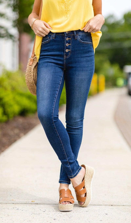 The Ultimate Dark Skinny Jean
