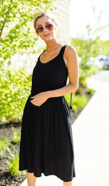 The Summer Sweetheart Dress,  Black