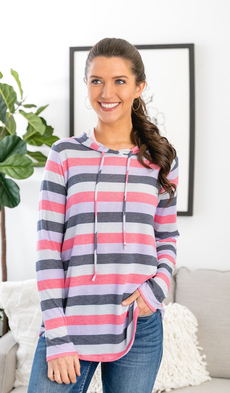 The Molly Hoodie, Stripe