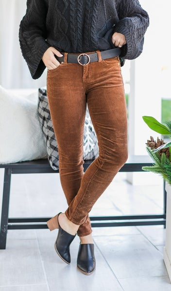 Your Perfect  Corduroy Pant, Camel