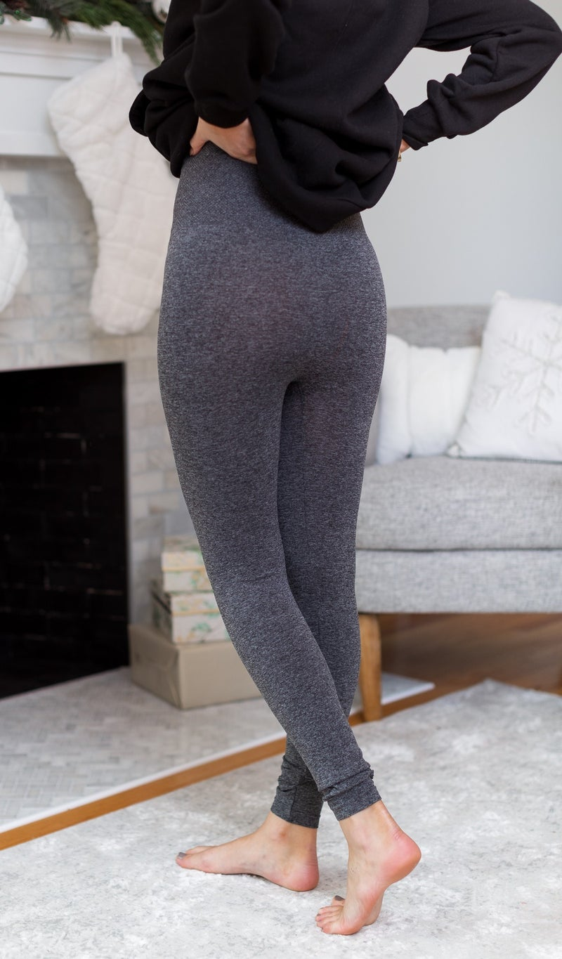 Feeling Great Legging, Black or Charcoal
