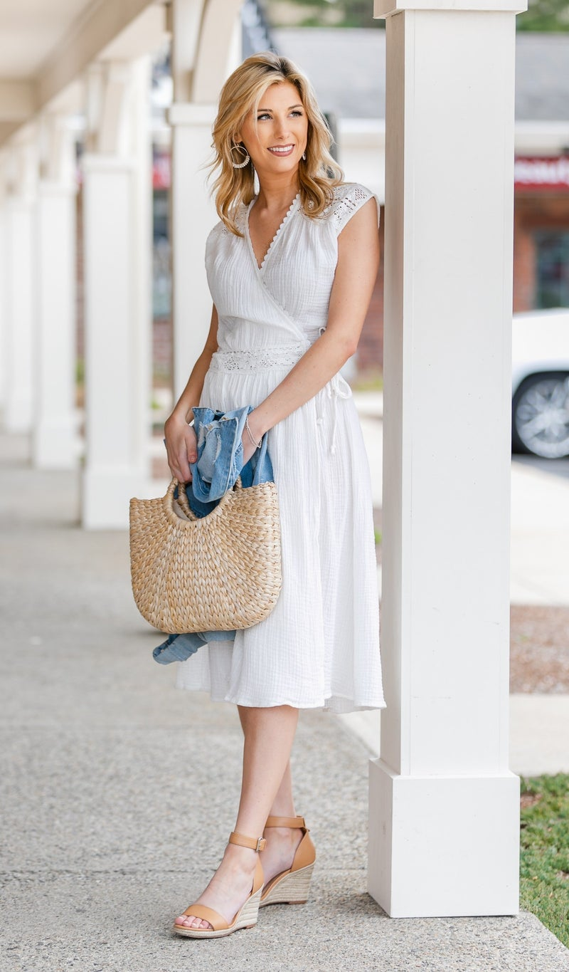 It's Your Time Midi Dress, Ivory