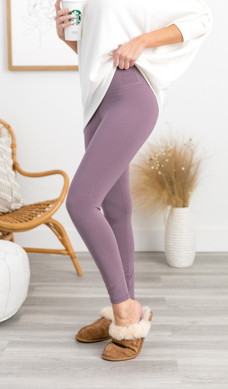 Year Of Ours Active Legging, Mulberry