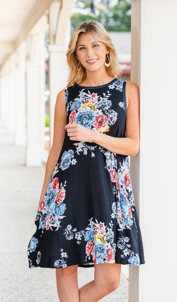 Summer's Day Dress, Black