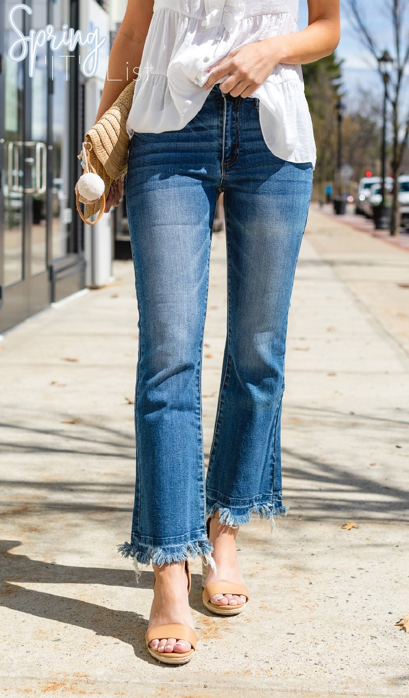 Here She Is Boot-Cut Jean, Medium