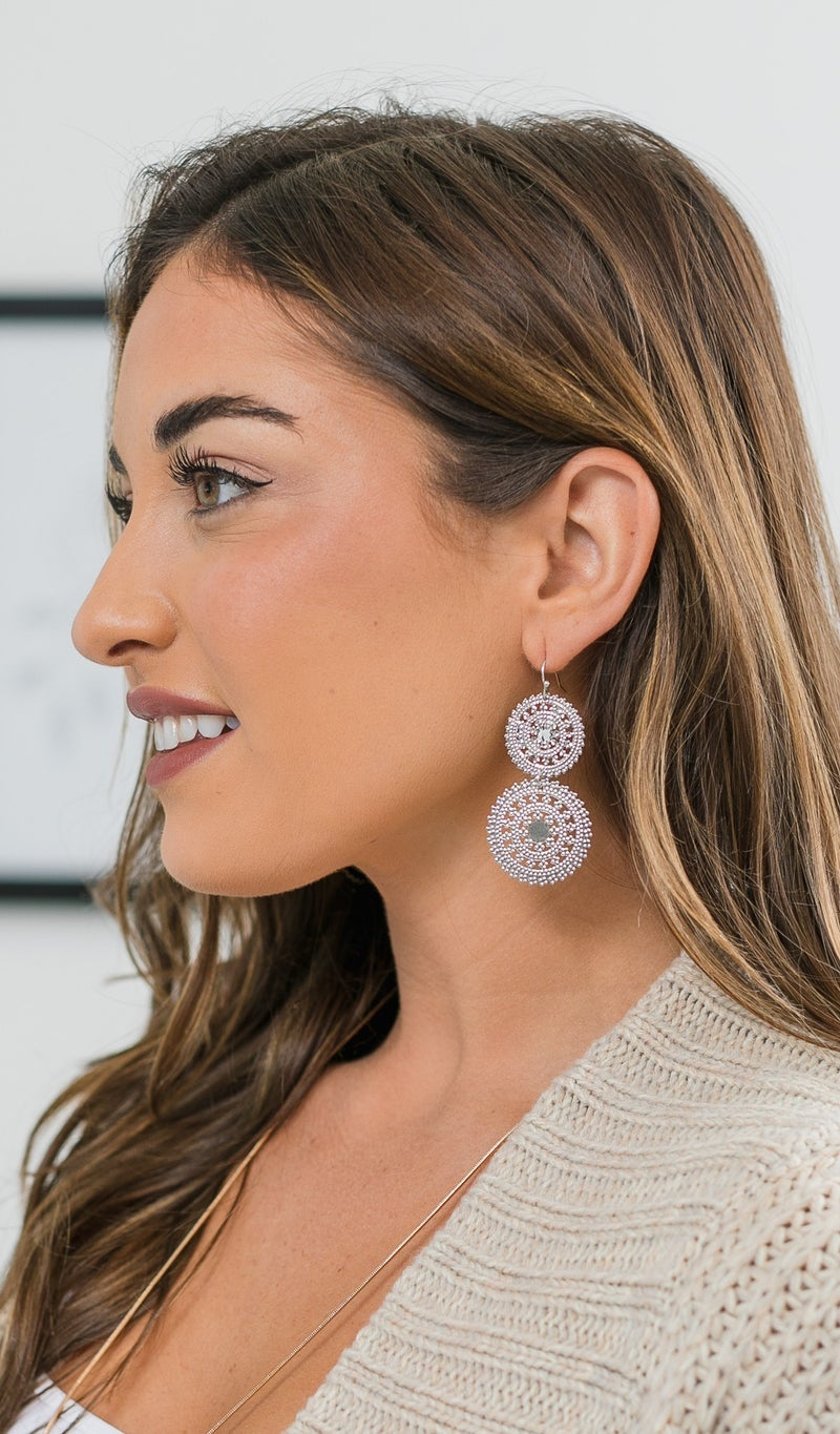 Must-Have Earrings, Silver or Gold