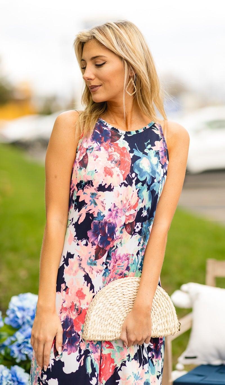 Summertime Feels Maxi, Mix Floral