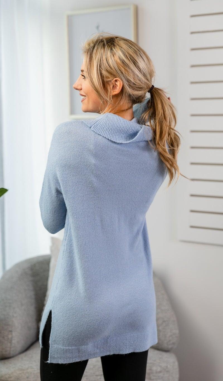 Gentle Night Sweater, Sky Blue