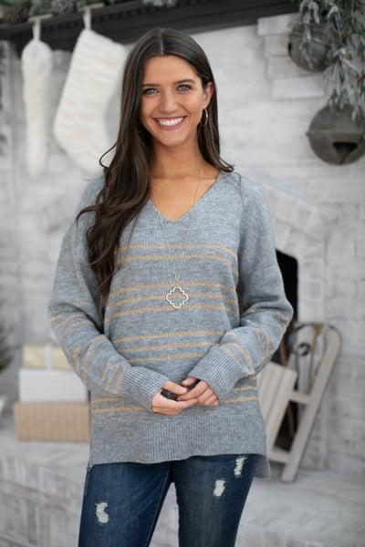 The Lola Sweater, Grey