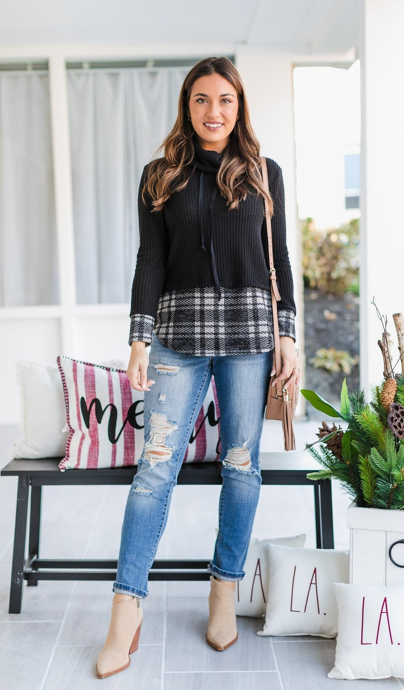 In Warmth Top, Black