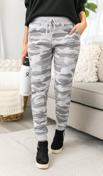 Time Out Jogger, Light Wash Camo