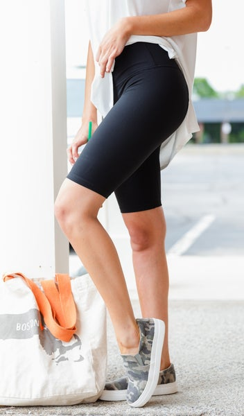 The Ultimate Biker Shorts, Black
