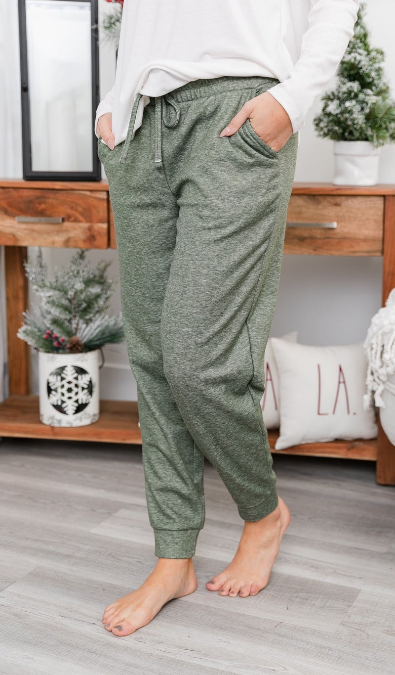 In The Loop Joggers, Charcoal, Mocha or Olive