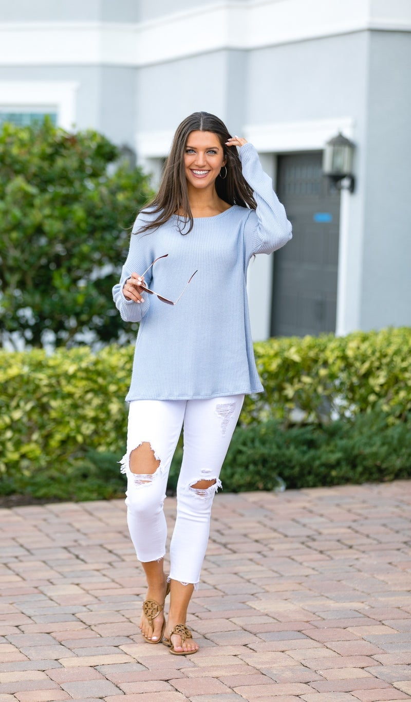 Comfort First Tunic, Sky