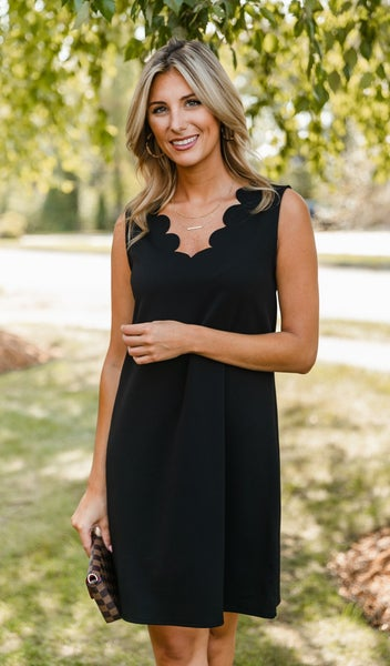 On A Mission Dress, Black