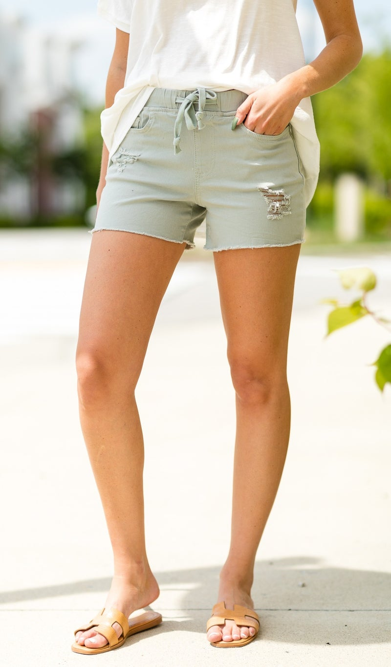Surf Day Shorts, Camo, Pink, Or Moss