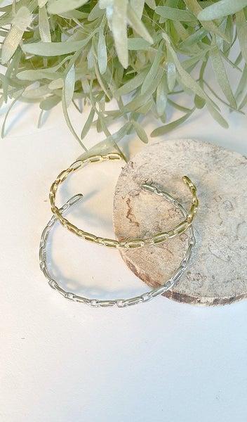 Timeless Link Bracelet, Silver or Gold
