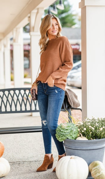 All Time Favorite Sweater, Camel or Navy