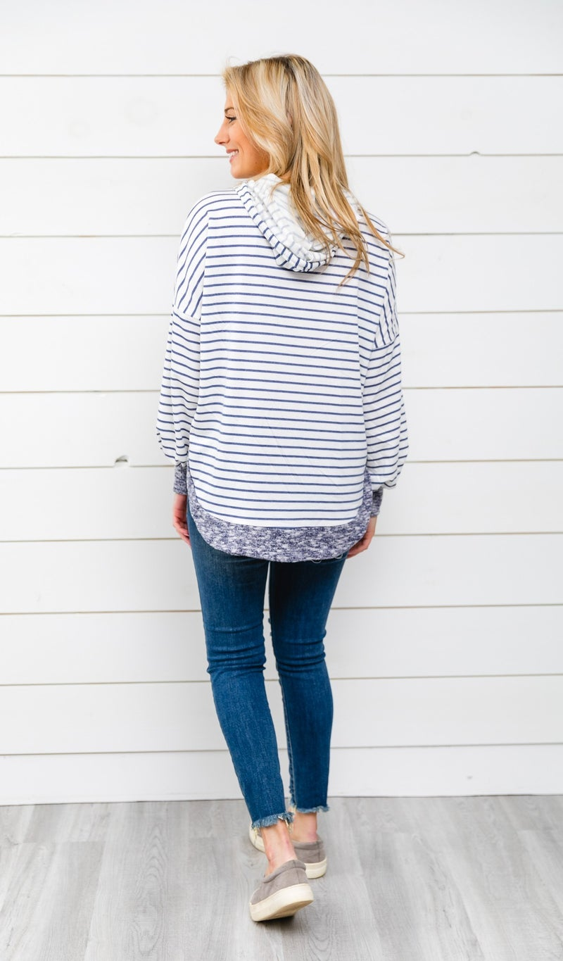 Always a Favorite Tunic, Indigo