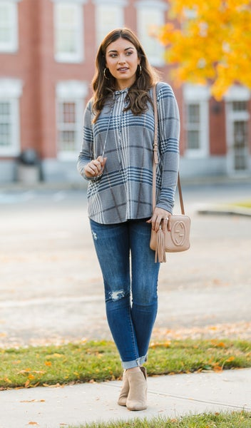 The Libby Pullover Top