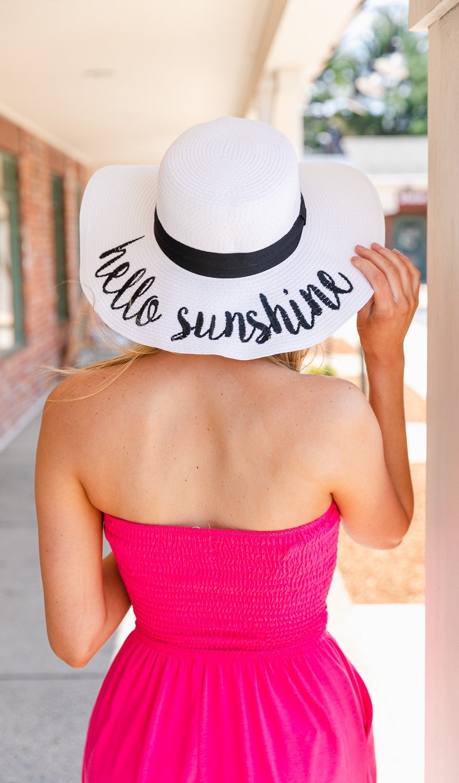 Hello Sunshine, Sun Hat
