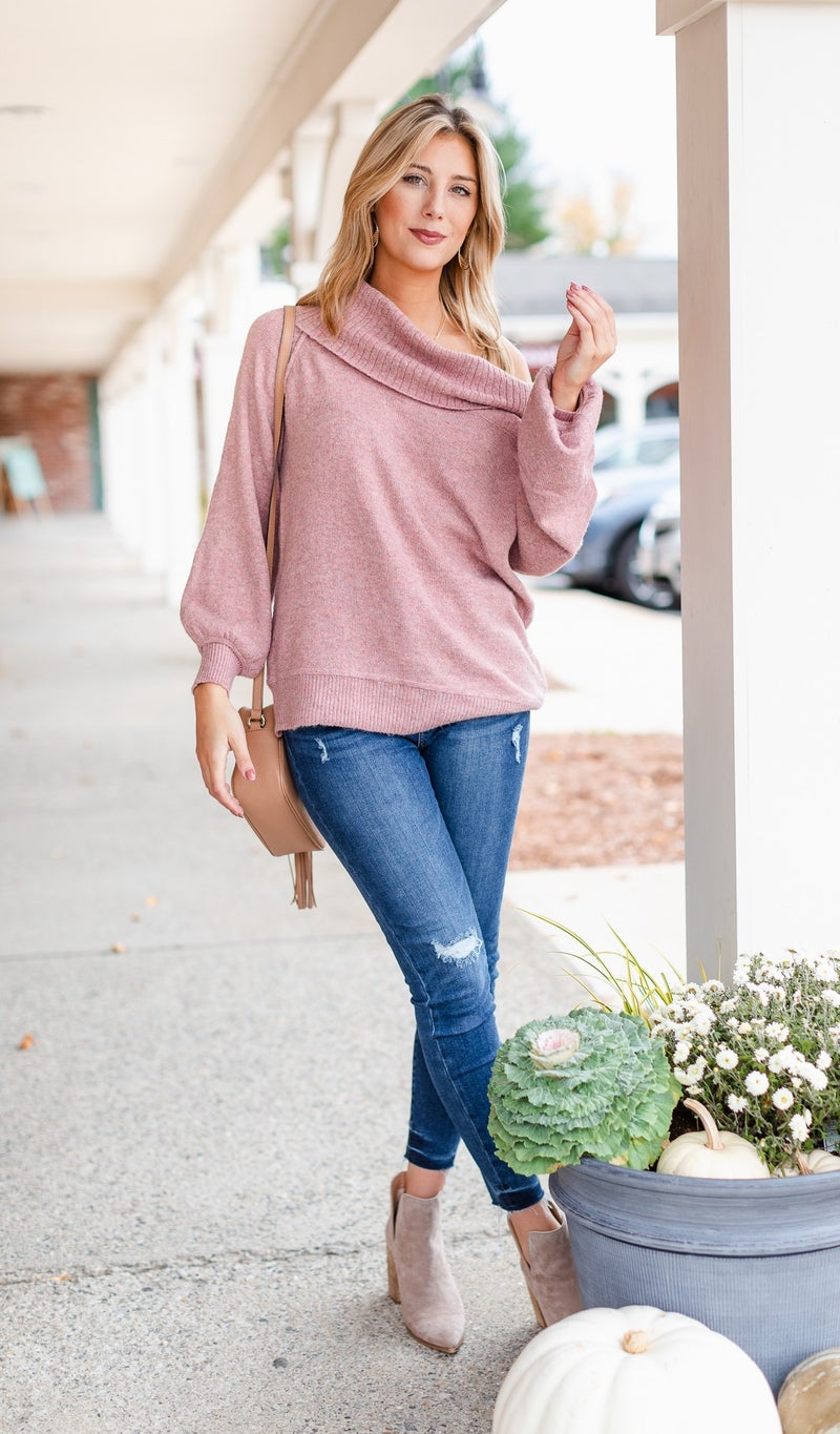 Sweet Escape Sweater, Blush