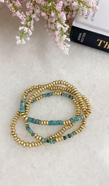 The Meghan Bracelet, Turquoise