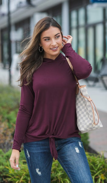 That Easy Pullover, Grey or Wine